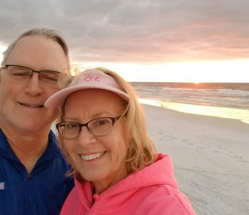 Roger and Susie Engelau Inspire Results Business Coaching at the beach