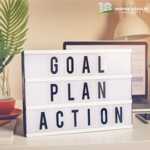 Inspire Results Goal Plan Action Sign